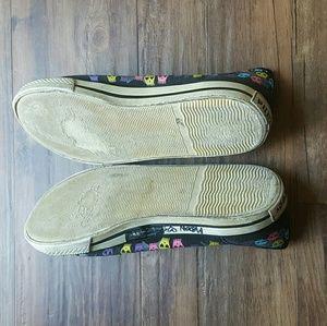 Hot Topic Shoes - PunkRose | Black Skull Sneaker Flats